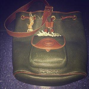 Dooney & Bourke Vintage Drawstring Clinch Bag